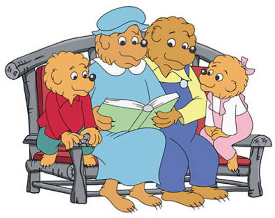 berenstain bears treehouse coloring pages - photo#27